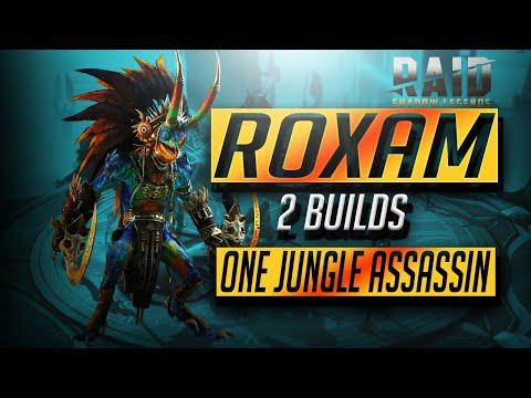 Roxam Champion Guide - 2 Builds- DEBUFFER+NUKER   RAID Shadow Legends