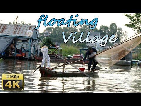 Châu Đốc, Floating Village and Chau Pho Hotel - Vietnam 4K Travel Channel
