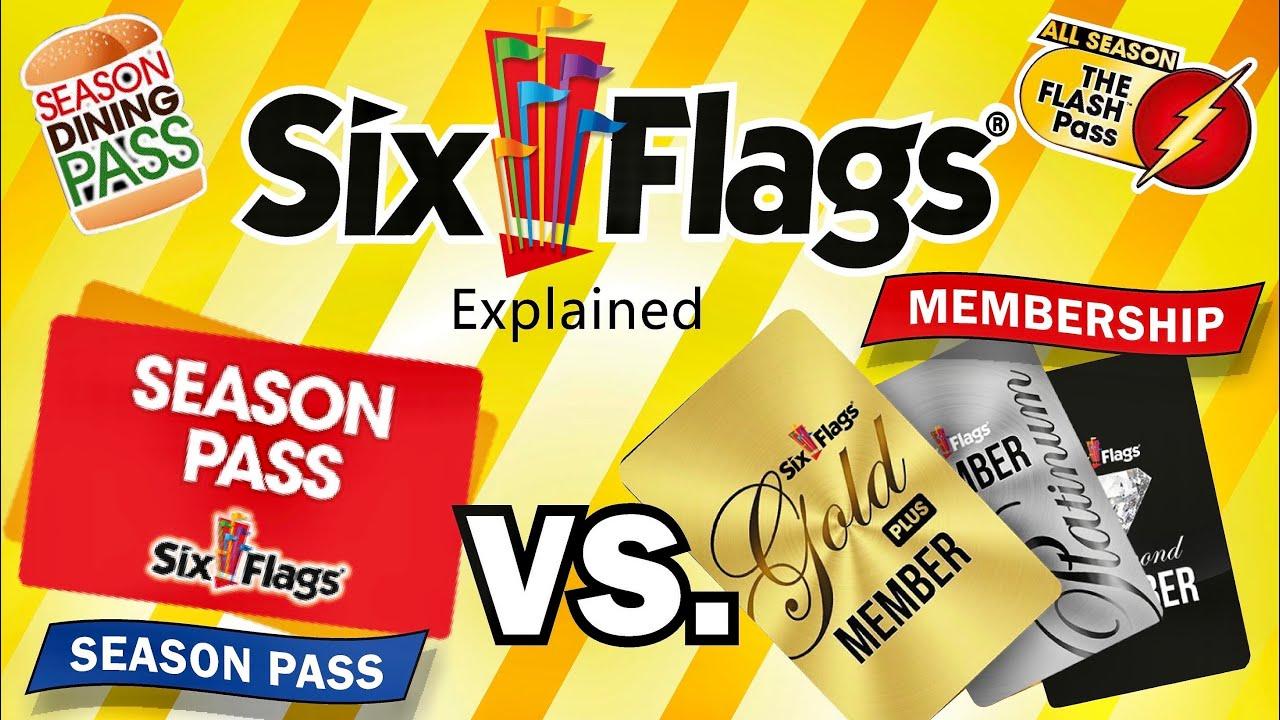 Six Flags Season Pass Vs Memberships Explained 2021 Youtube