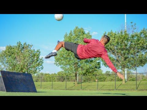 c4de12c39 How To Build A Soccer Wall/Rebounder! (Full DIY Tutorial) - YouTube