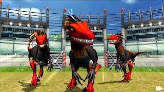 Jurassic Park Builder BATTLE Android Gameplay #1