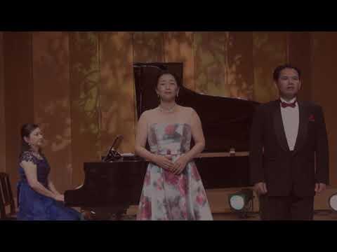昼のミニコンサート「故郷」菊池慈生(テノール)、原亜紀子(ソプラノ)、加藤千里(ピアノ)