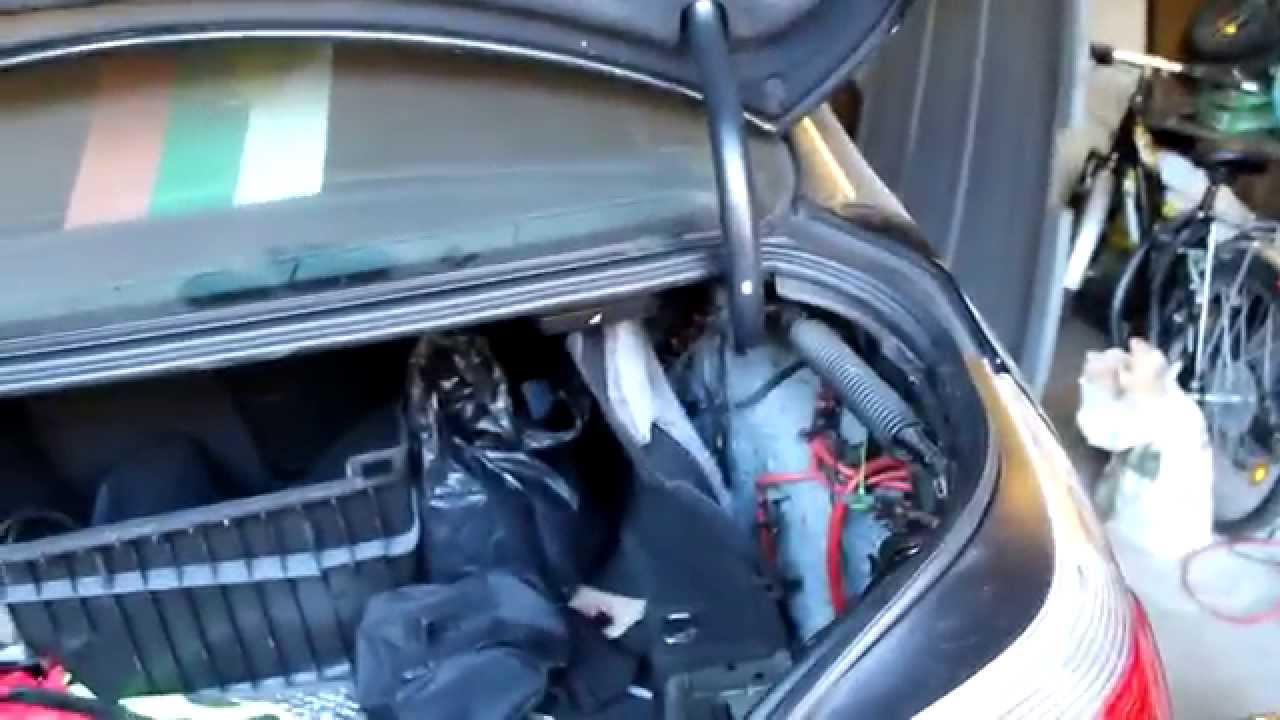 замена топливного насоса bmw 523 e60
