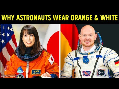 Why Astronauts Wear Orange And White