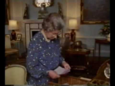 Queen Elizabeth II Reflects on her life, rare footage