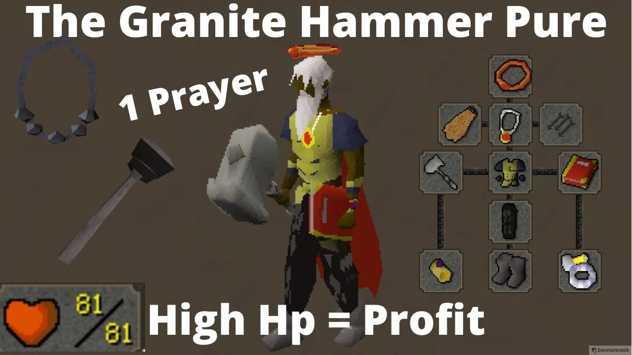 G Hammer Pking on a Very Successful Bounty Hunter Build