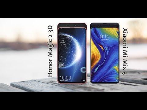 Honor Magic 2 3D Vs  Xiaomi Mi Mix 3 | Specs & Price Comparison - 2019