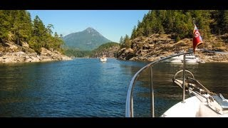 Cruising To Prideaux Haven -- Desolation Sound, BC
