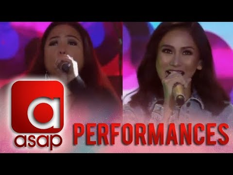 ASAP: Sarah G leads 90's rock throwback as she sings 'Cool Ka Lang' together with Lei Bautista