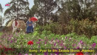 Pyar Se Bhi Zyada Tujhe (Sonic Jhankar - 720p) - Ilaaka - M. Aziz & Asha Bhosle (By Danish)