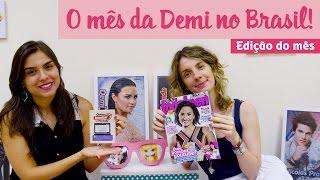 tterça de vídeo - O mês da Demi Lovato no Brasil!
