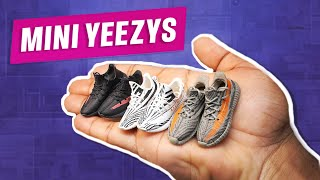 Mini Yeezy Boosts - 1/6 Scale Shoes for Action Figures