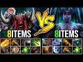Mega Creeps Defending [Terrorblade] Vs [Bloodseeker] EPIC 8Items Carry Battle | Dota 2 Highlights