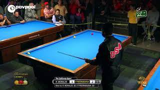POV Pool Re-Dubbed / Pedro Piedrabuena vs Robinson Morales /Three Cushion