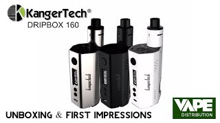 kangertech dripbox 160 unboxing first impressions thedevilvaper