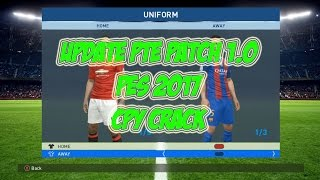 Update PES 2017 Pte Patch 1.0 on Crack CPY