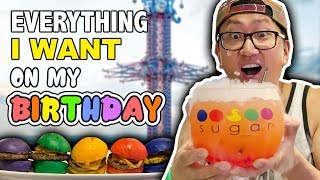 Getting EVERYTHING I WANT on my Birthday ? 24 HOUR CHALLENGE