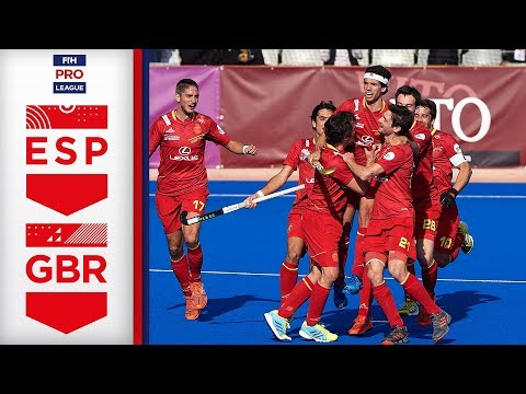 THRILLING MATCH! | Spain v Great Britain |  Week 2 | FIH Men's Pro League Highlights