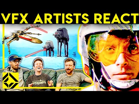 VFX Artists React to STAR WARS bad and Great CGi video screenshot
