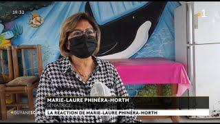 La Réaction De Marie-Laure Phinéra-Horth