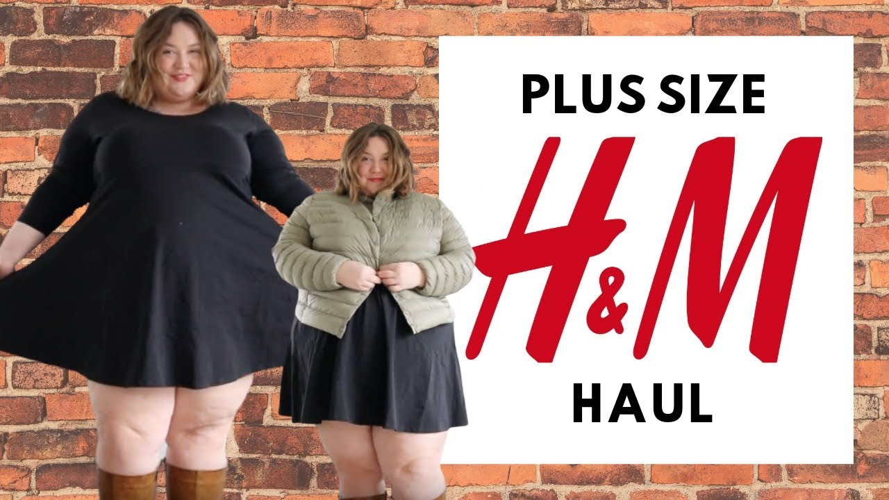 PLUS SIZE H&M HAUL - Spring Goodies! - YouTube