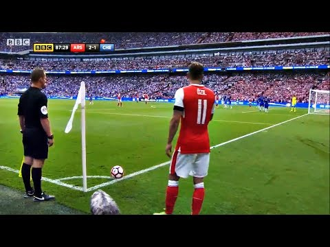 Mesut Özil vs Chelsea (FA Cup) HD 720p (27/05/2017) by V10 Comps
