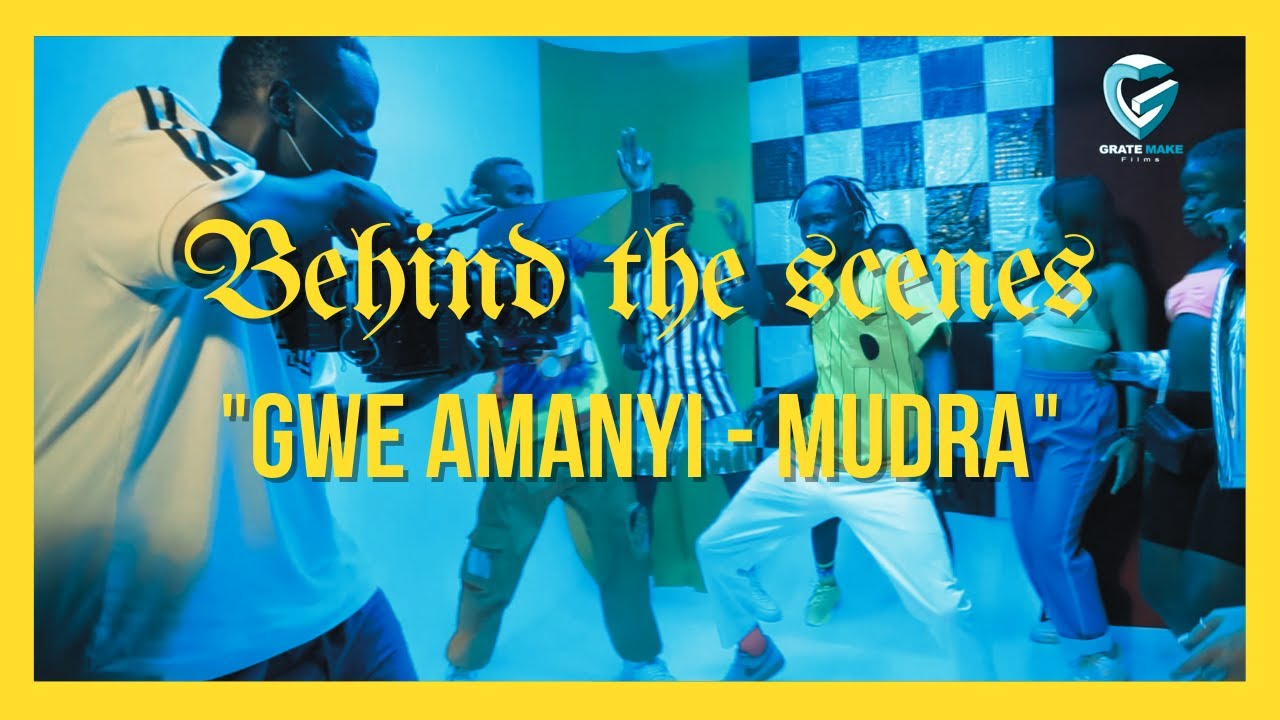 Mudra D Viral - Gwe Amanyi | Behind The Scenes