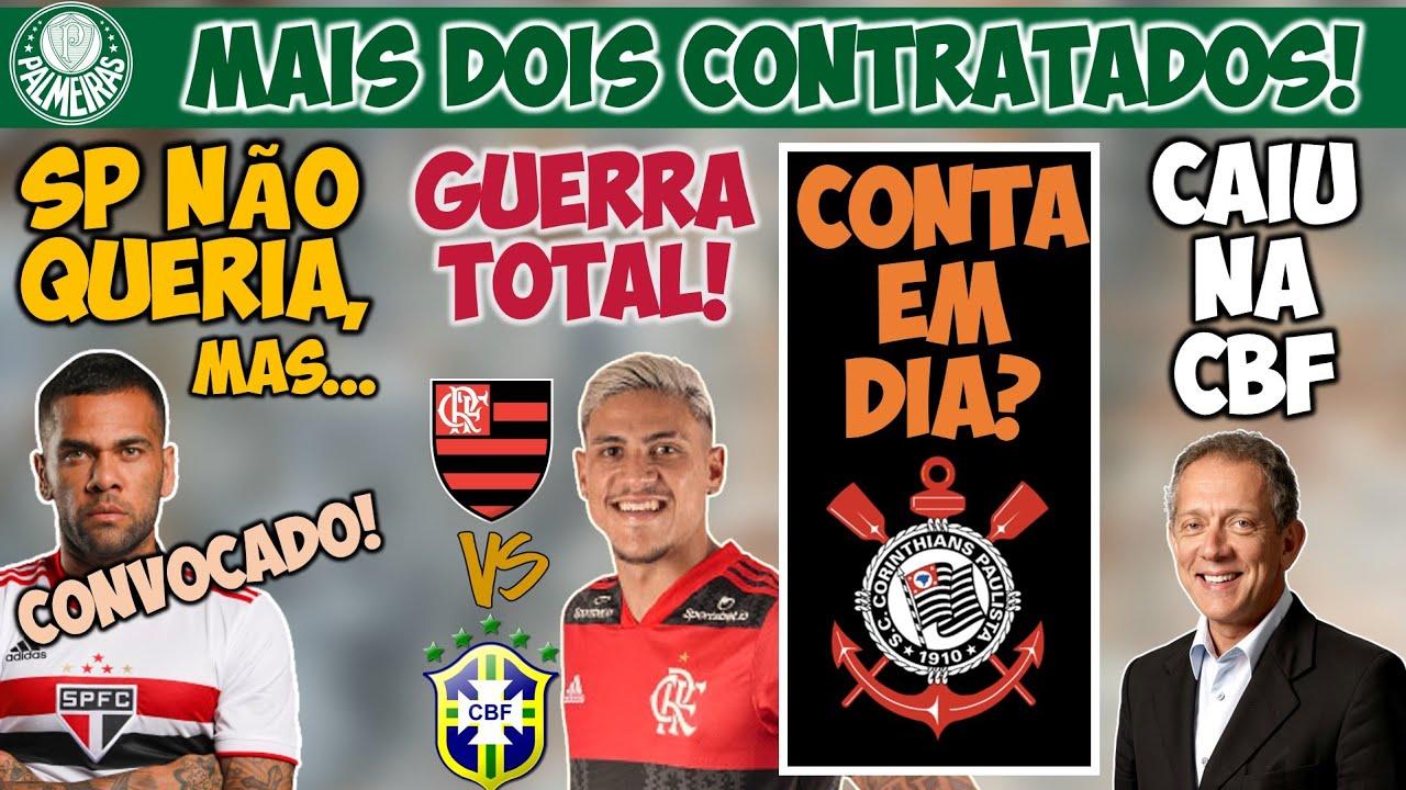 PQ SPFC LIBEROU DANI ALVES P/ OLIMPÍADA! VERDÃO COMPRA 2 JOIAS; FLAxCBF; TIMÃO PAGA SALÁRIO, MAS...