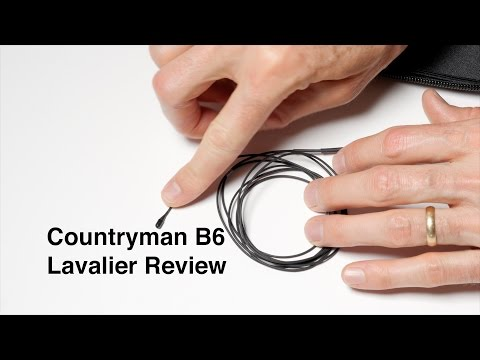 Countryman B6 Lavalier Microphone Review