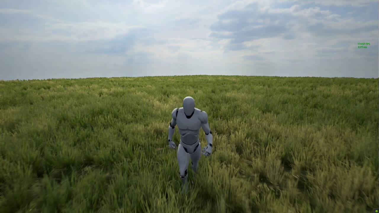 Advanced Grass Material for UE4