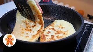 Вкуснейшие Сырные Лепешки с Начинкой за Полчаса