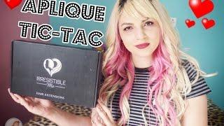 Cabelão com Irresistible Me (Clip-In Hair Extensions) - Aplique de Tic-Tac | Cake Gloss