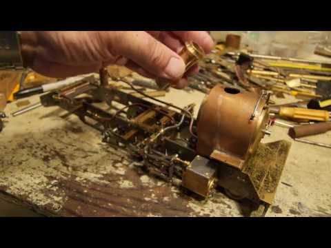 'Russell' Live Steam Model Locomotive Part 8