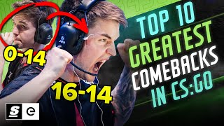 The Top 10 Greątest Comebacks in CS:GO