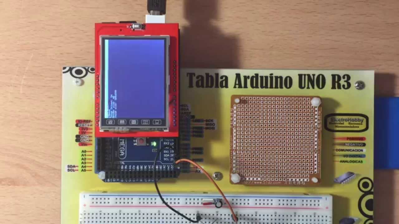 Tft Lcd 24 Shield Microsd Bitmaps Example With Arduino Mega Topic Ssr Solid State Relay And Uno Read 2938 Times
