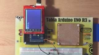 """TFT LCD 2.4"""" Shield MicroSD Bitmaps example with Arduino MEGA"""