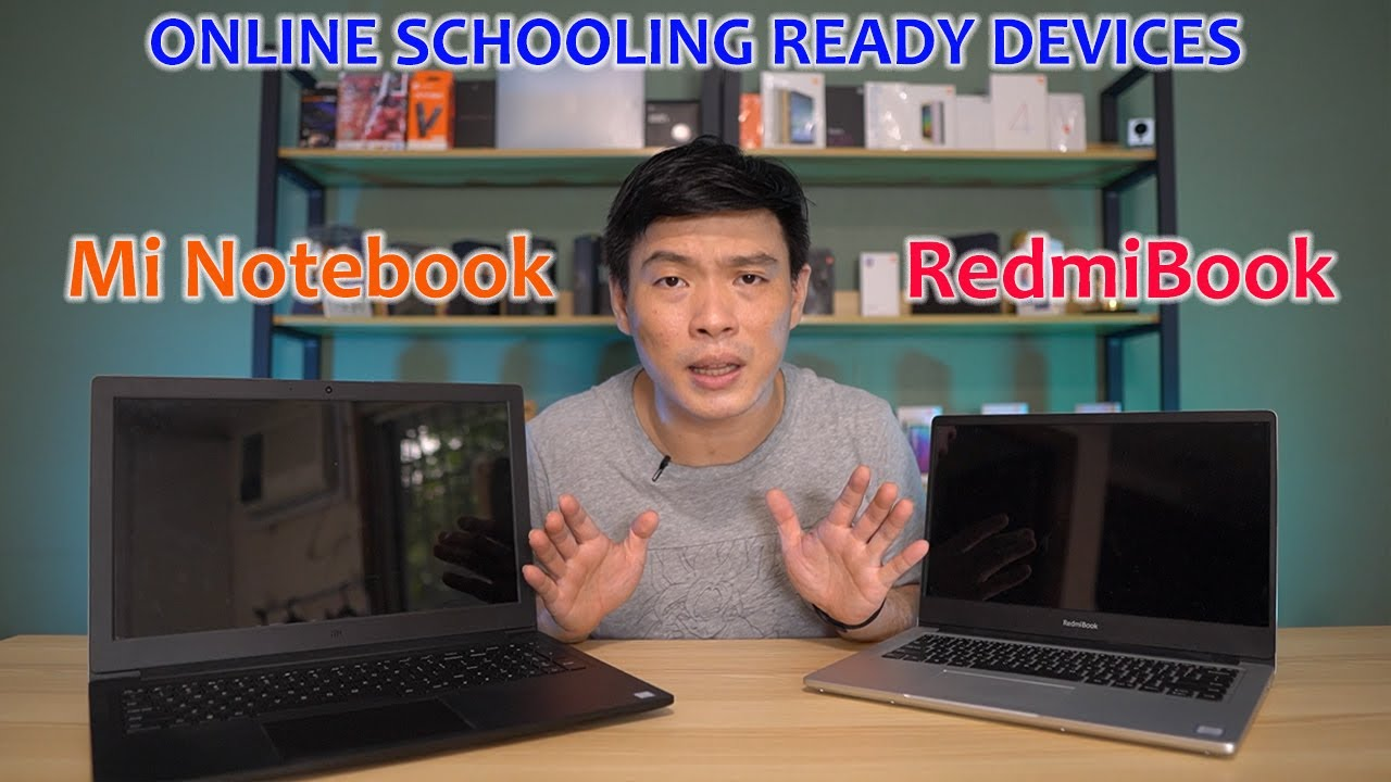 Mi Notebook 15 and Redmibook 14 - Online Schooling Ready Device (ft Estarer Laptop Bag)