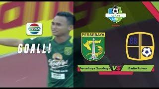 Goal Abu Rizal - Persebaya Surabaya (1) vs Barito Putera (0) | Go-Jek Liga 1 Bersama BukaLapak