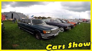 Classic and Retro Cars Shows Review 2018. Exhibition of Cars 2018. Motor Show in Kiev 2018