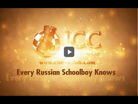 Every Russian Schoolboy Knows LIVE with GM Alex Yermolinsky 2017-06-15