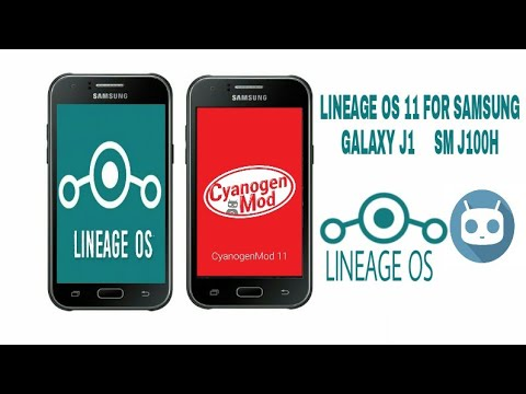 LINEAGE OS 11 for SAMSUNG GALAXY J1 SM J100H (CUSTOM ROM) HOW TO Install  FULL TUTORIAL