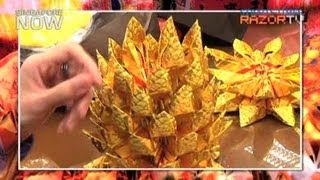 Hundreds of paper for one pineapple (Incense art Pt 2)