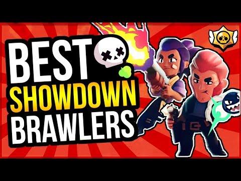 BEST BRAWLERS For SHOWDOWN! Showdown Brawler Ranking (Brawl Stars)
