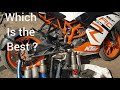 Best loudest Exhaust || m4 || hp || sc projects || akrapovik full system for ktm & all motorcycle