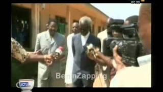 101121 LEPI : KEREKOU enregisté - Canal3 - BeninZapping