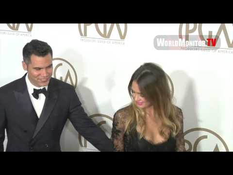 Jessica Alba, Cash Warren arrive at 24th Annual Producers Guild of America Awards