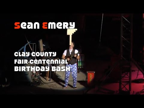 Sean Emery at Clay County Fair Centennial Bash