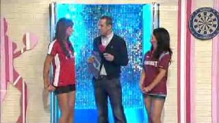 Rosie Jones and Kelly Hall as Soccerettes on Soccer AM