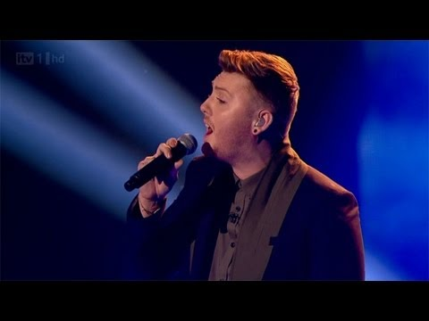 James Arthur sings Shontelles Impossible  The Final  The X Factor UK 2012