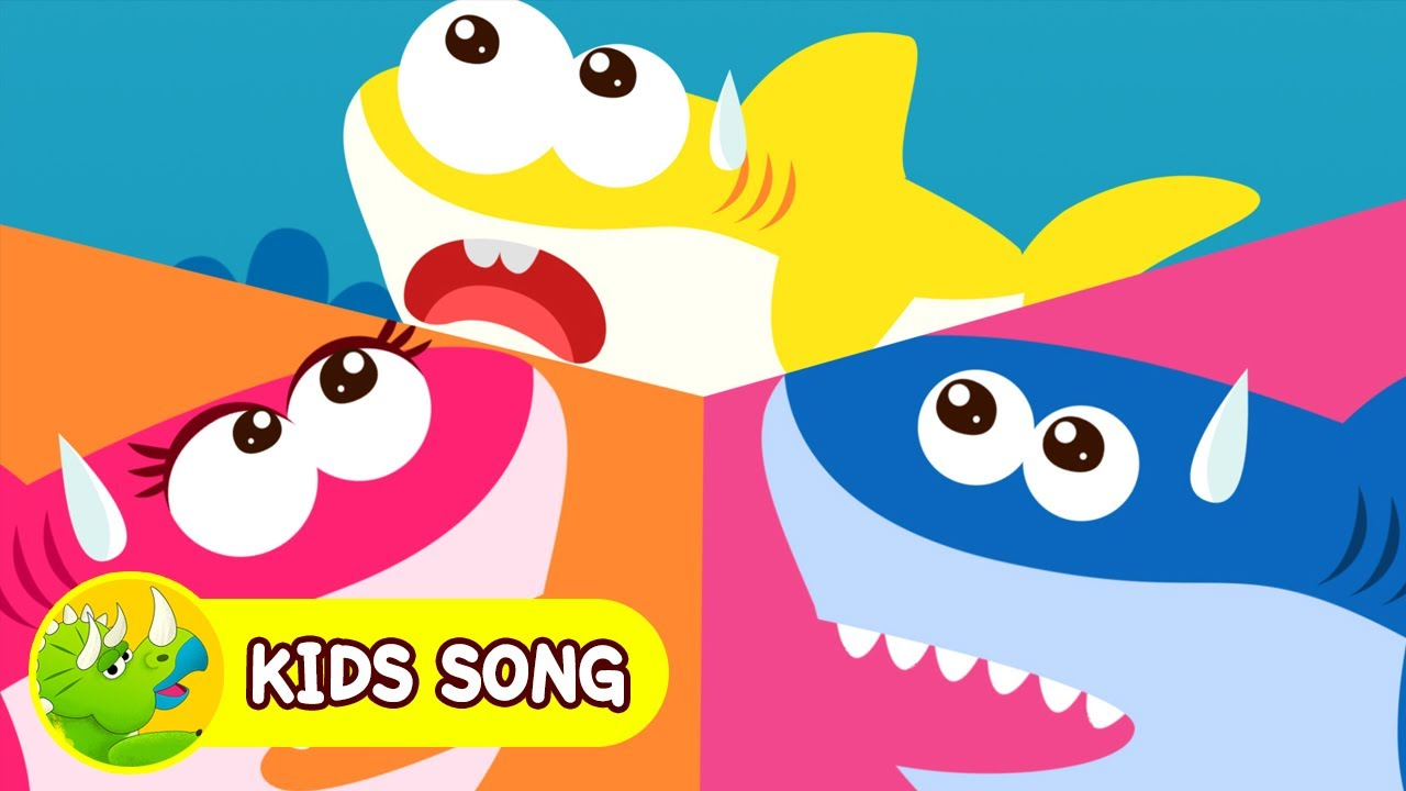 Baby Shark Family Mermaid Princess L Animal Song L Nursery Rhymes